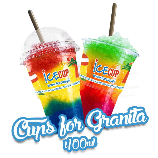 Cup for granita 400 ml
