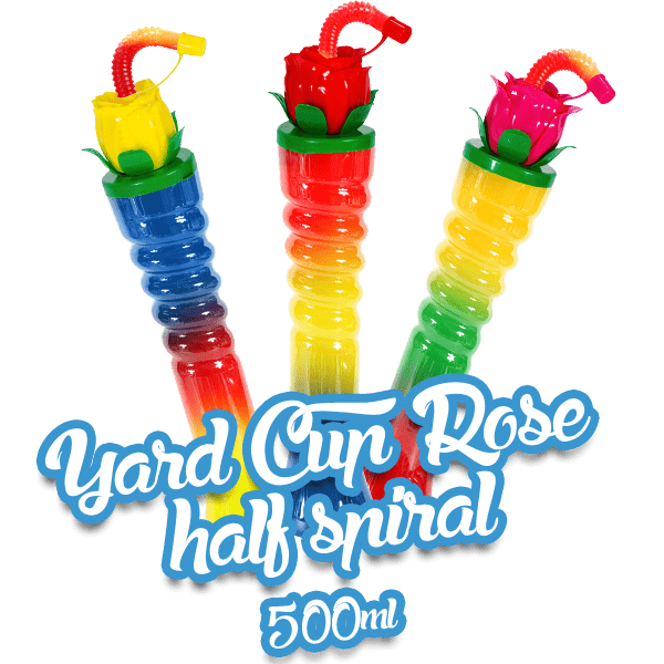 Yard Cup Rose - Half Spiral 500ml