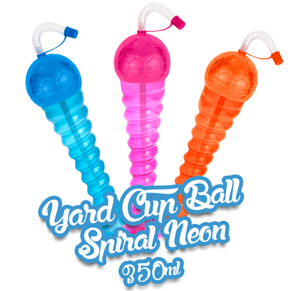 Yard Cup Ball NEON - Spiral 350ml