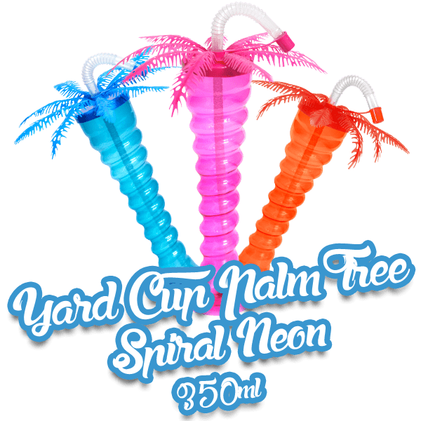 Yard Cup Palm Tree NEON - Spiral 350ml
