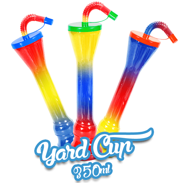 Yard Cups Flat Cover - Standard 350ml