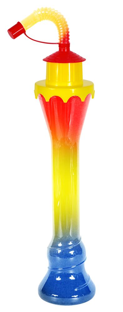 Butelka żółta latarnia