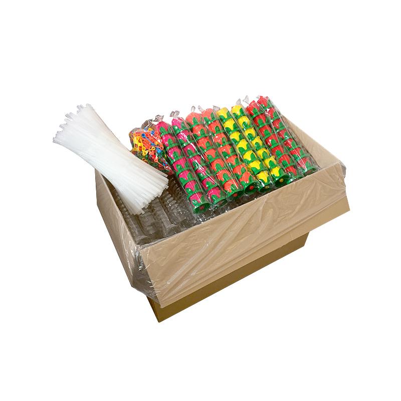 Karton z zapakowanymi kielichami