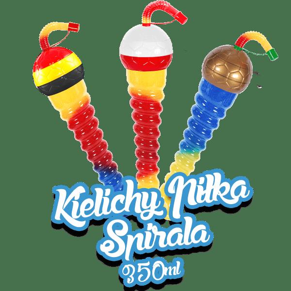 Kielichy Piłka Spirala 350ml