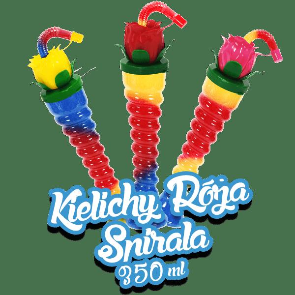 Kielich Róża - Spirala 350 ml