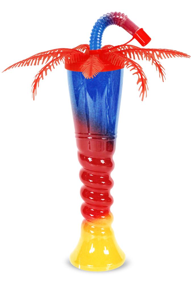 Pomarańczowa butelka do sorbetu palma