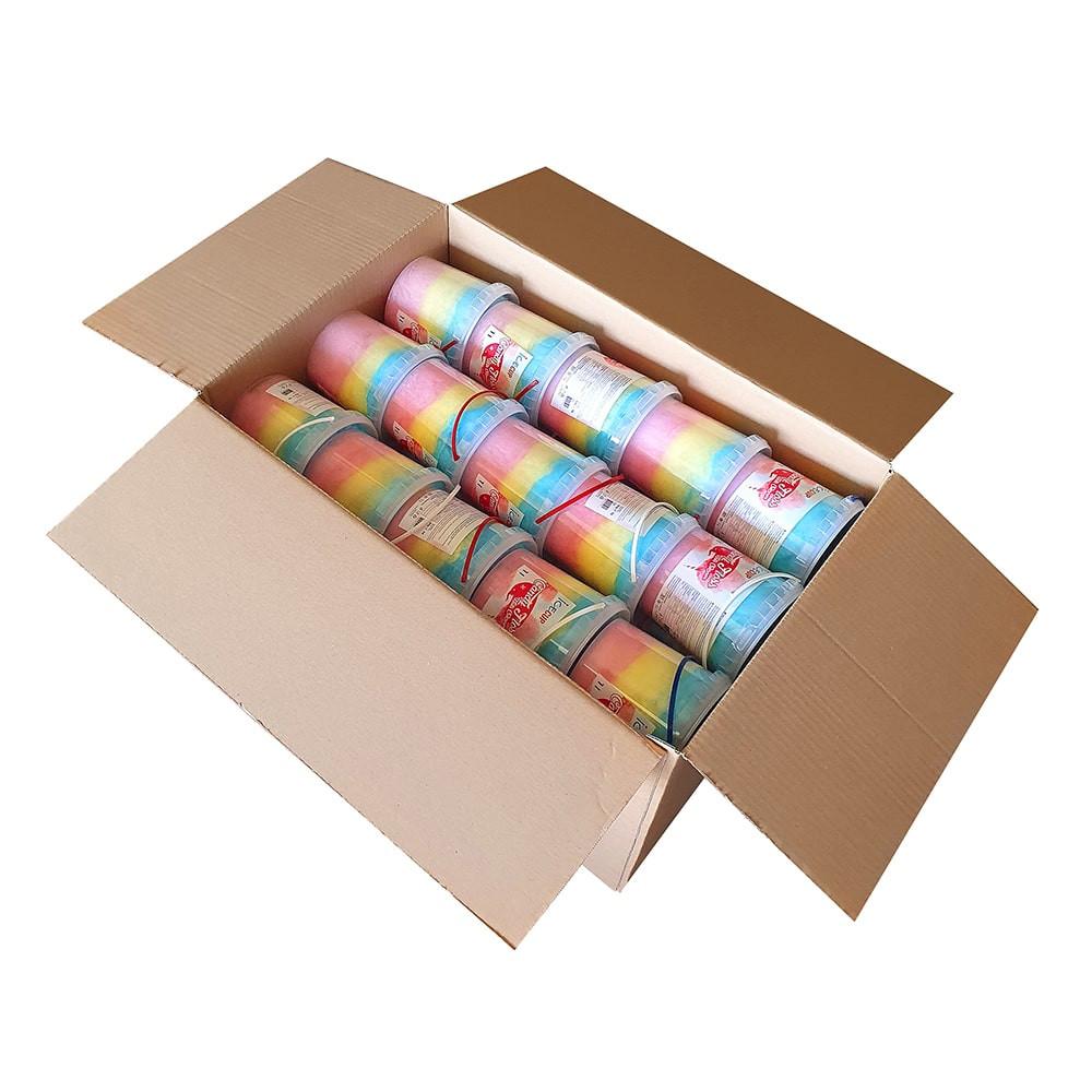 Wata cukrowa w kubku 1l karton